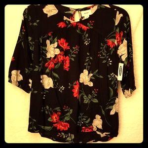 Old Navy Dressy Floral Shirt